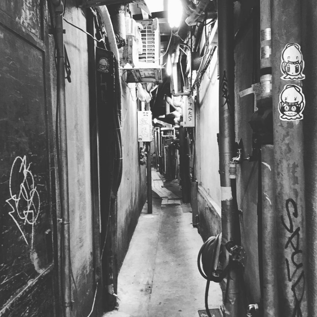 lastday osaka japan night street